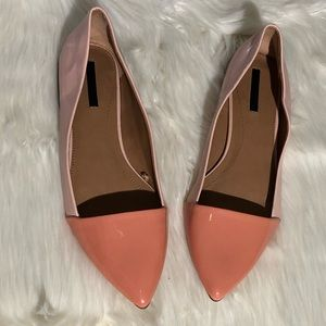 ZARA two toned flats | 40